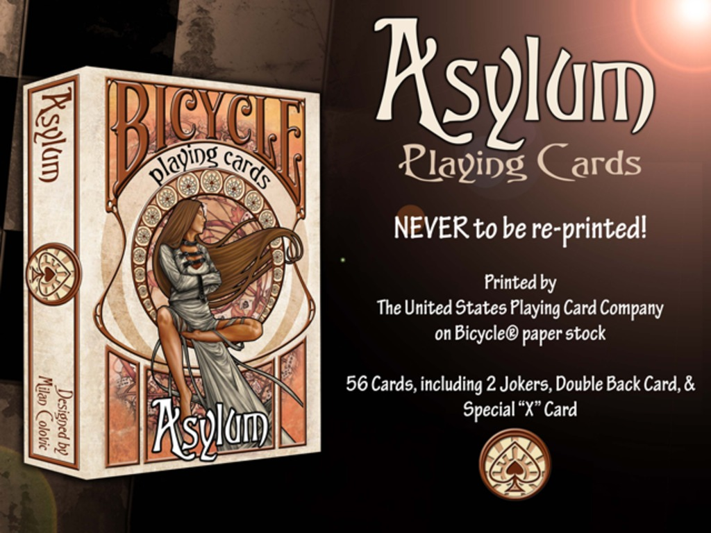 Asylum Playing Cards's video poster