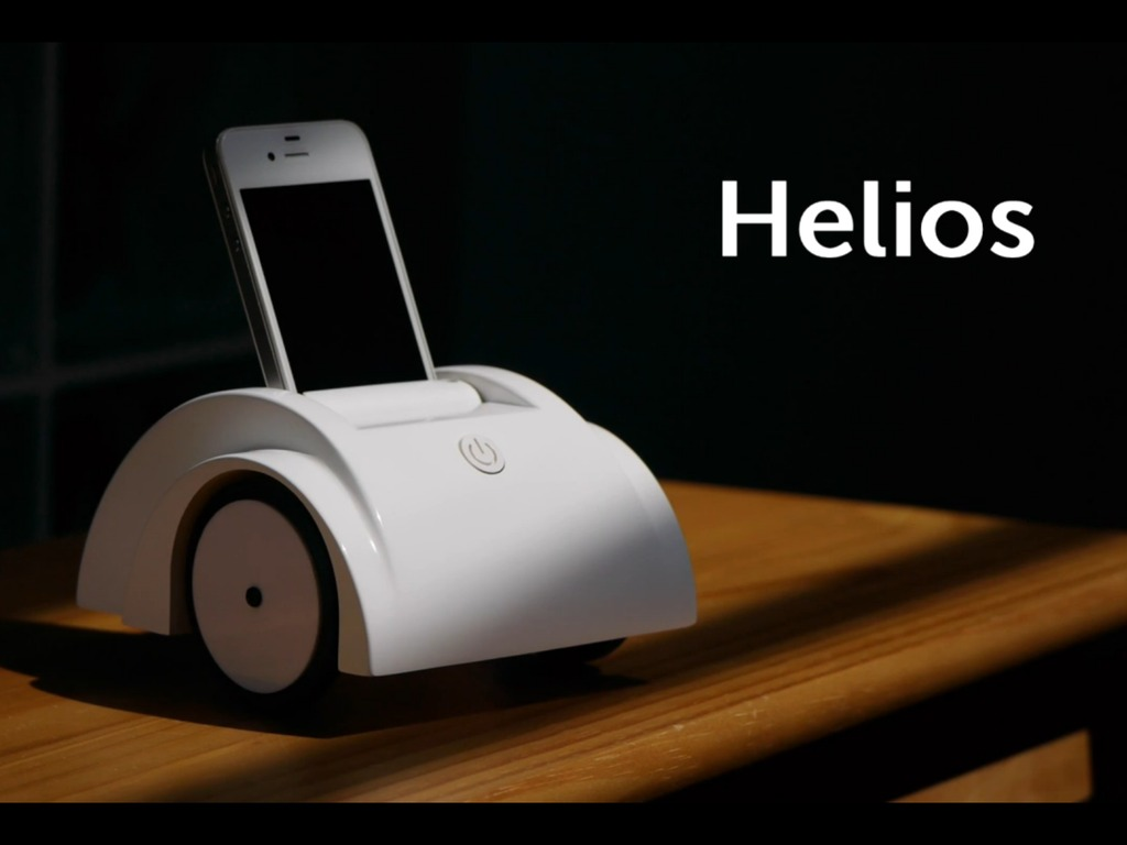 Helios: $99 iPhone Telepresence Robot's video poster