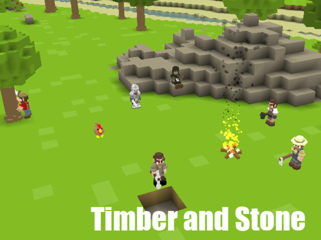Timber and Stone's video poster