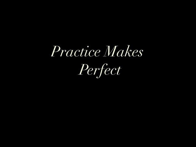 short essay practice makes perfect