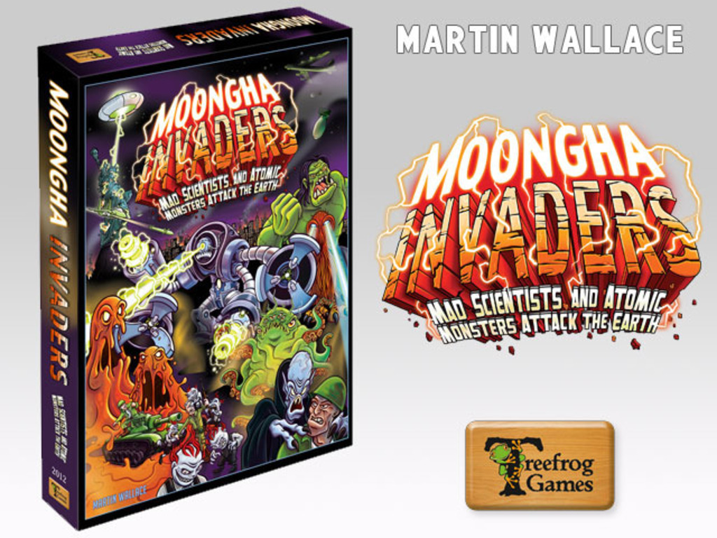 Martin Wallace's Moongha Invaders's video poster