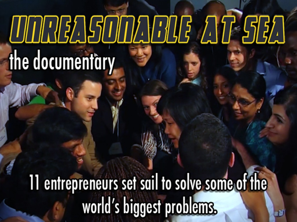 Unreasonable at Sea: An Entrepreneur's Odyssey's video poster