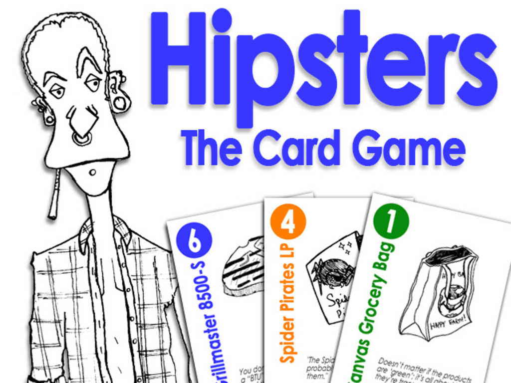 Hipsters: The Card Game's video poster