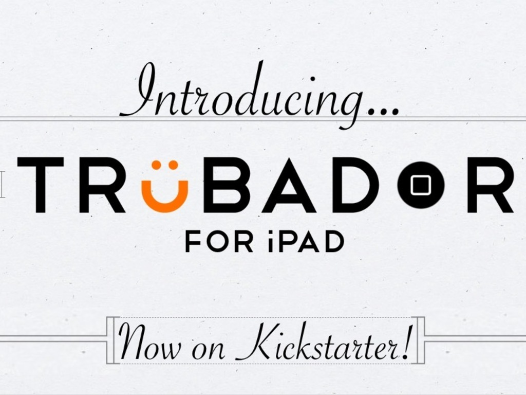 Trubador: the Hands-Free iPad Case for Awesome People's video poster