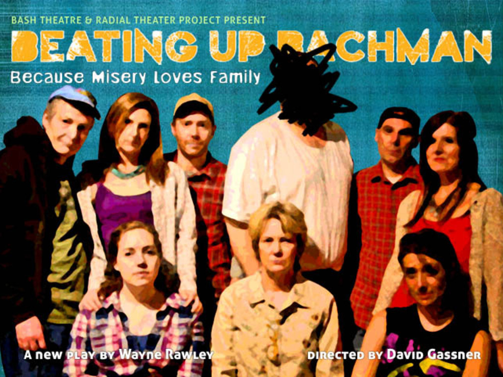 Beating Up Bachman, a new play by Wayne Rawley's video poster