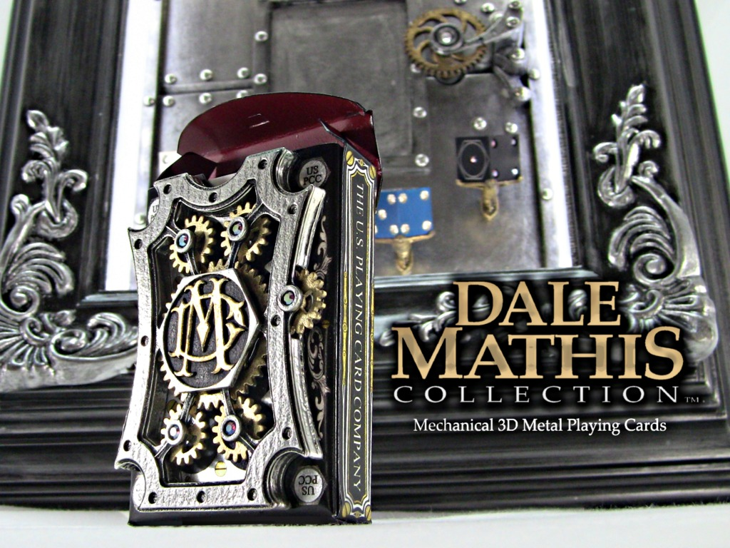 """""""World's First 3D Metal and Mechanized Playing Cards""""'s video poster"""
