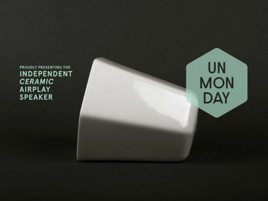 Unmonday 4.3L - Independent Ceramic Airplay Speaker's video poster