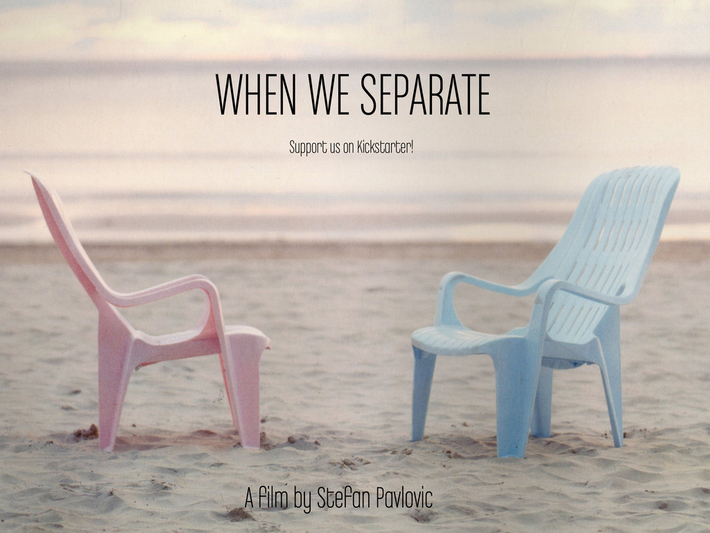 WHEN WE SEPARATE's video poster