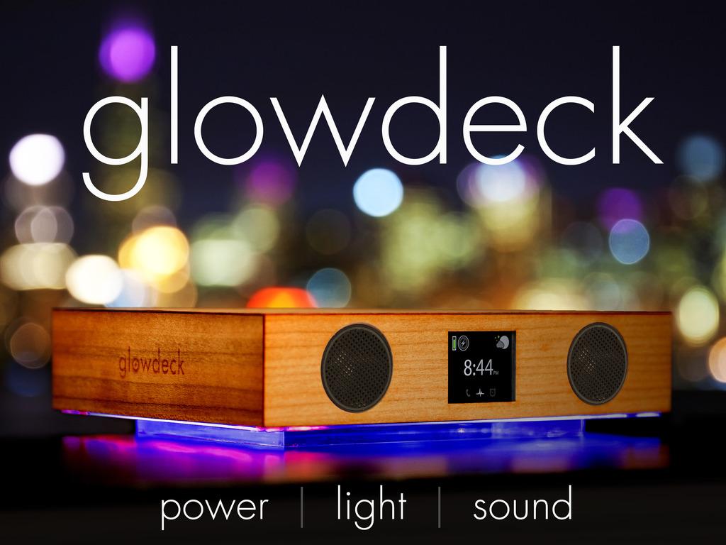 glowdeck - Wireless Power, Light, and Sound's video poster