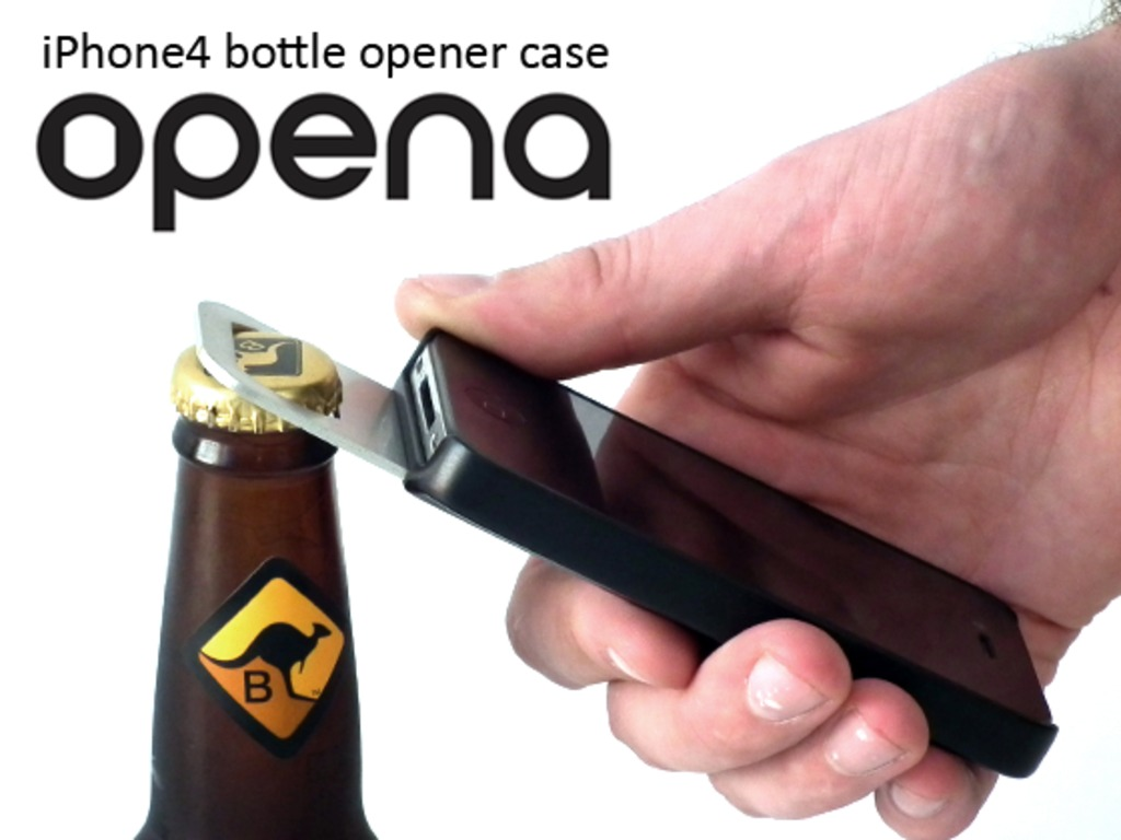 Opena - iPhone Bottle Opener Case's video poster