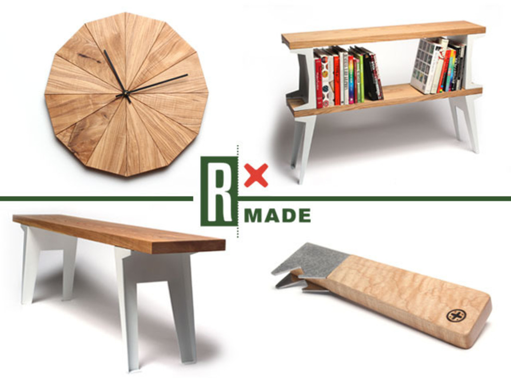 Designed for RX Made: Upcycled Product Launch's video poster