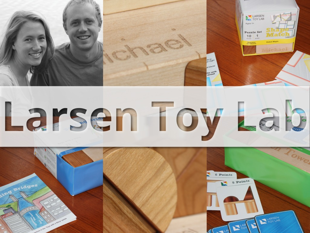 Larsen Toy Lab: Rediscover the Power of Building Blocks's video poster