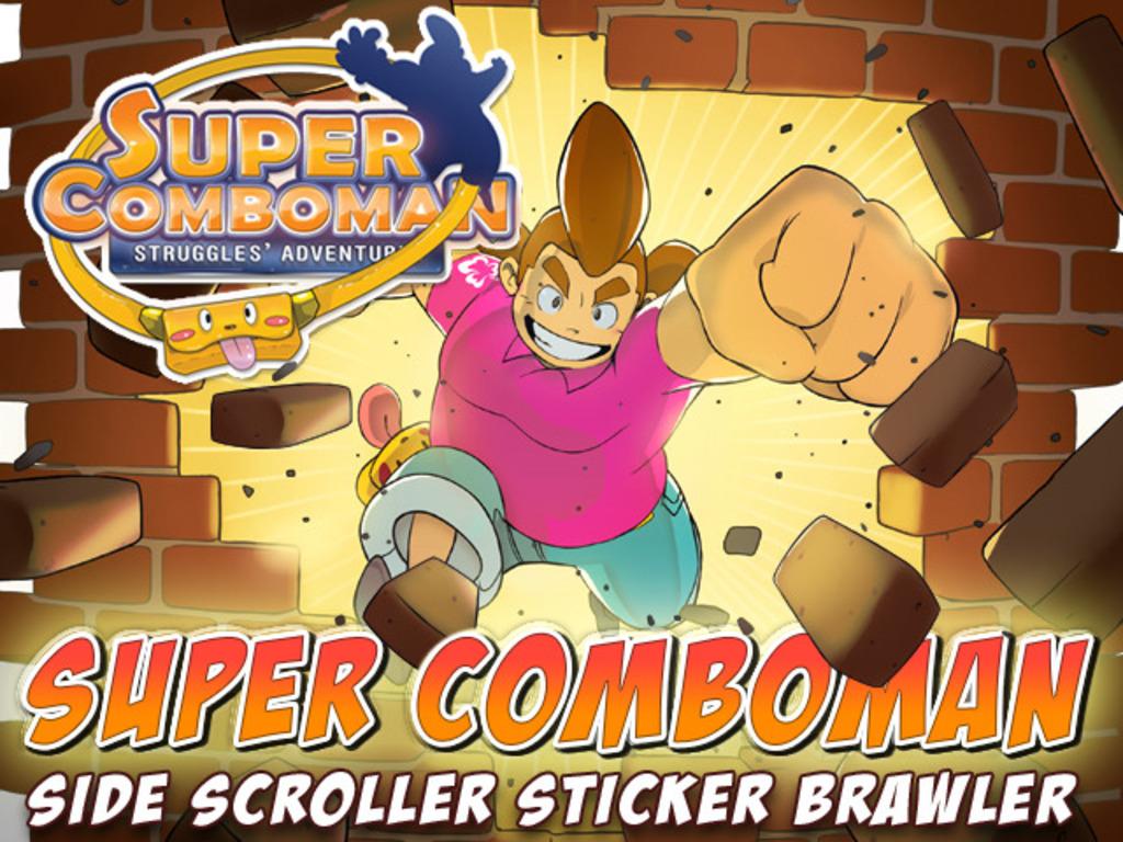 Super Comboman: Beat-em-up Sticker Action Platformer's video poster