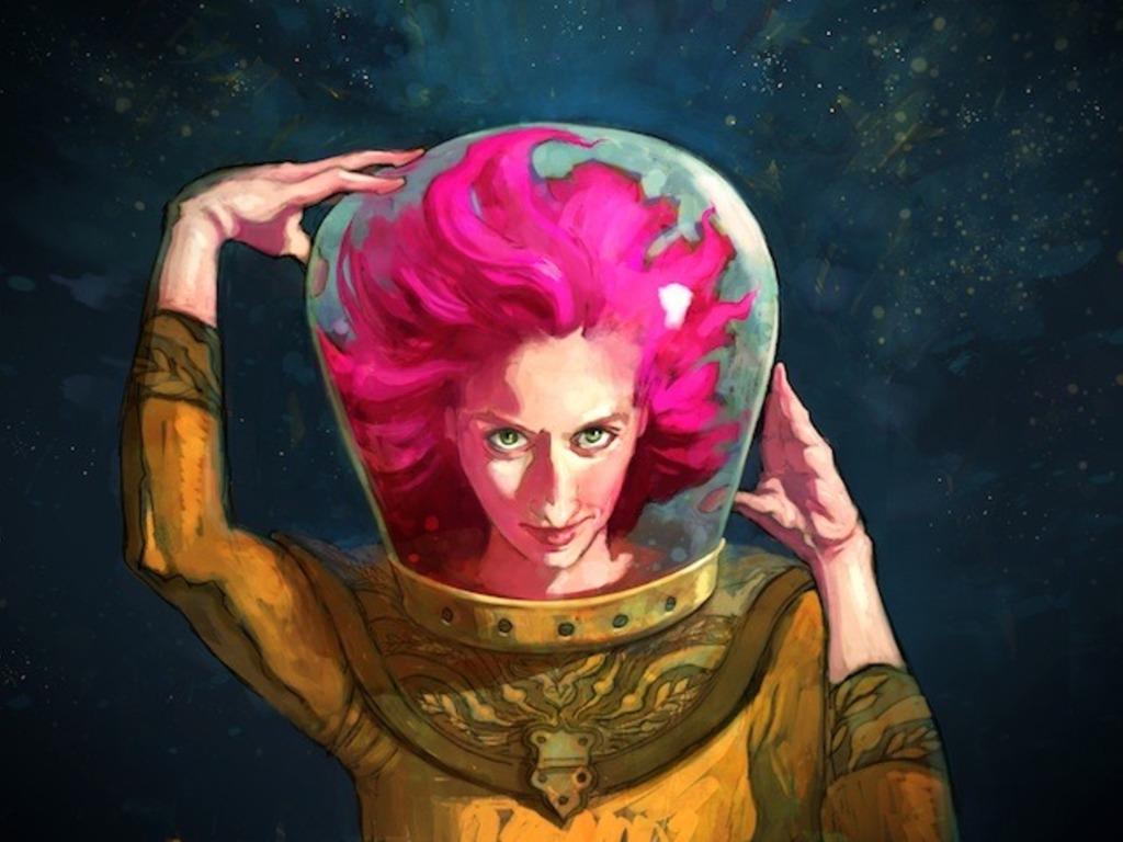 The Sky is Calling: Kim Boekbinder's SPACE! album's video poster