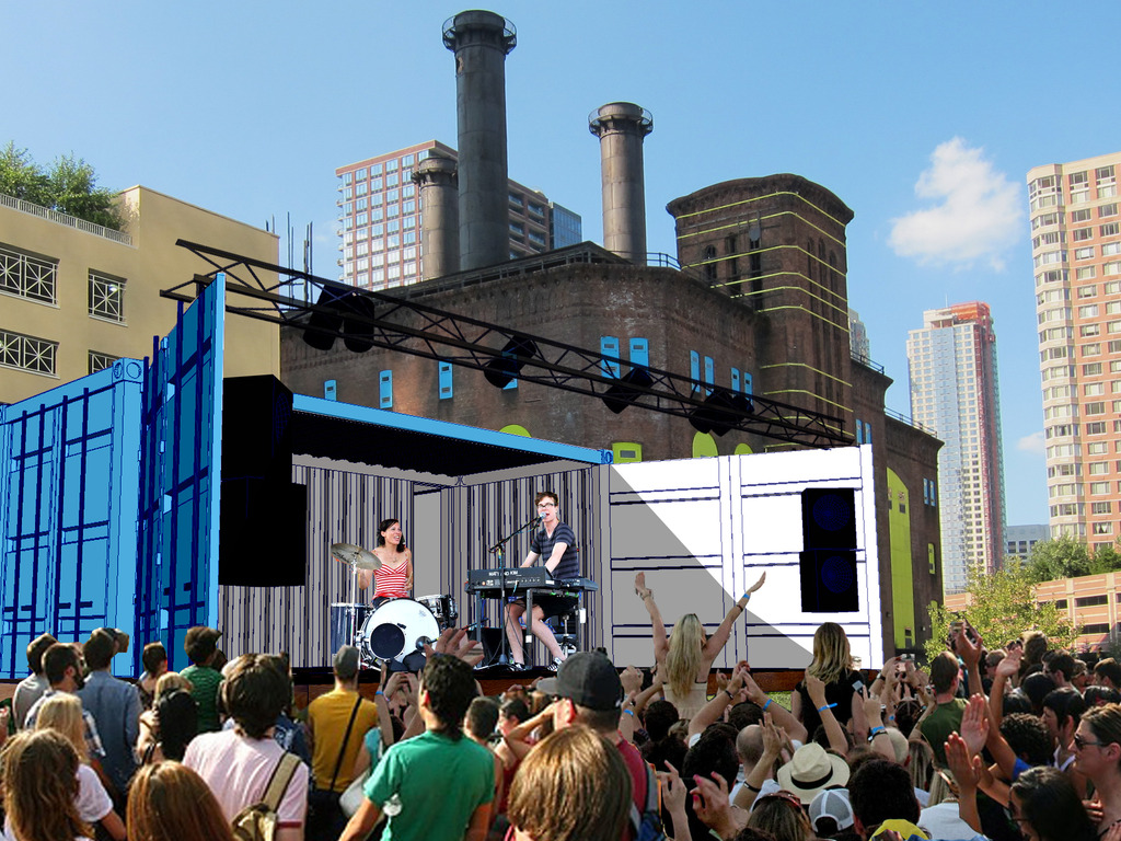 ArtBloc: A mobile Art Space  - from 2 Shipping Containers's video poster
