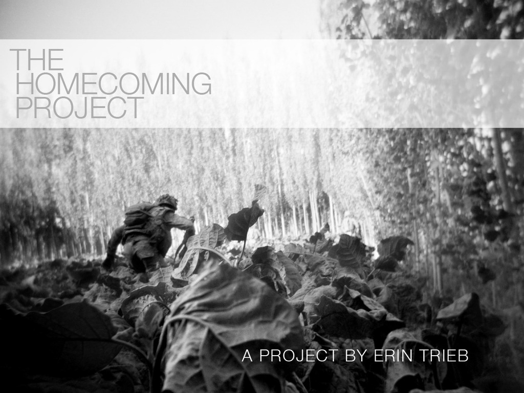 The Homecoming Project's video poster