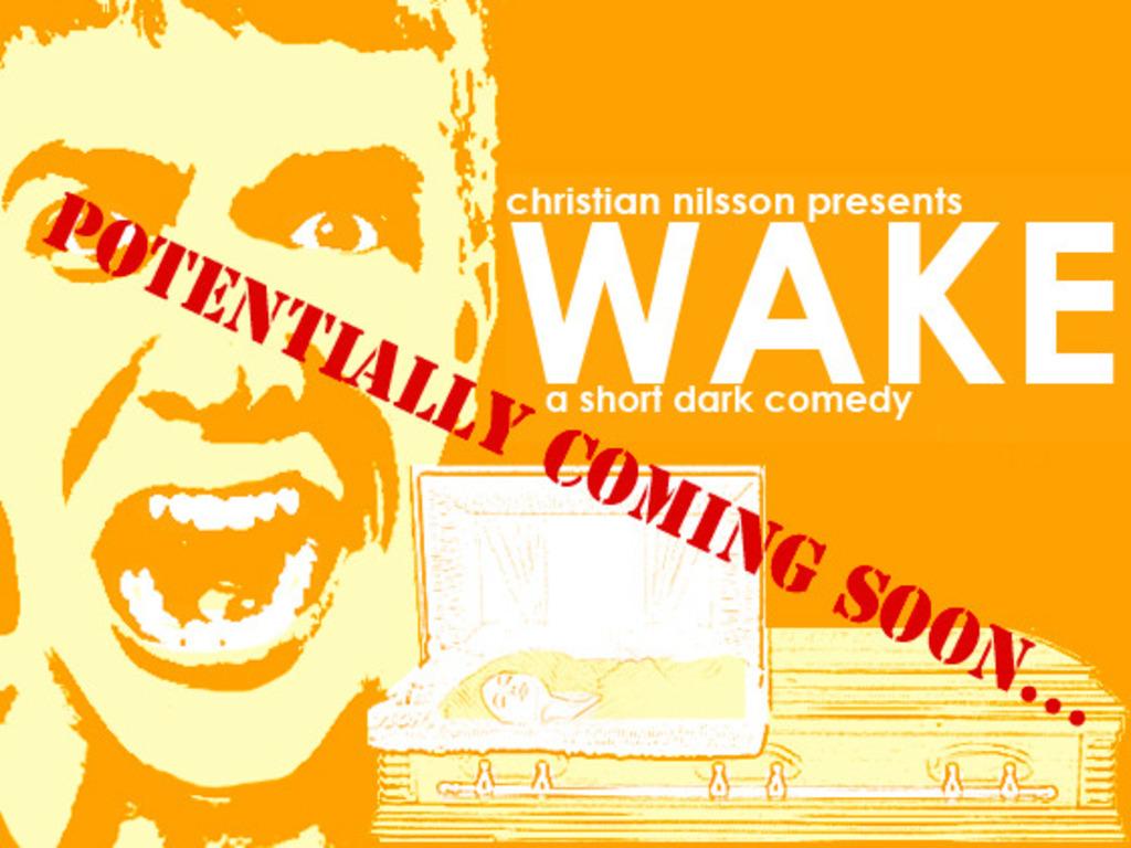 WAKE (a short dark comedy)'s video poster