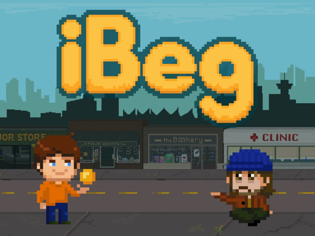 iBeg - A Game For Social Change's video poster