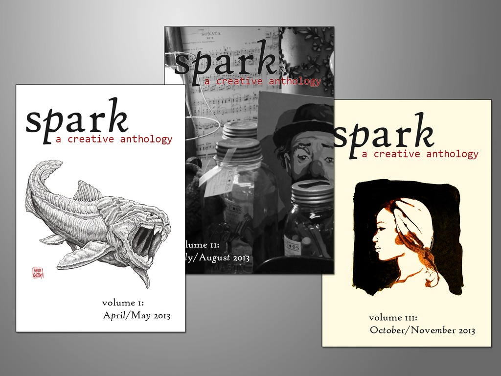 Spark: A Creative Anthology's video poster