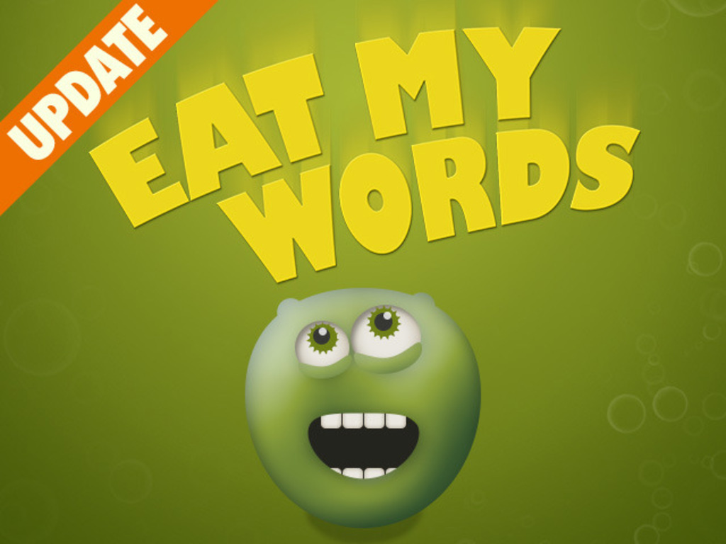 Eat My Words - a vocabulary learning game's video poster