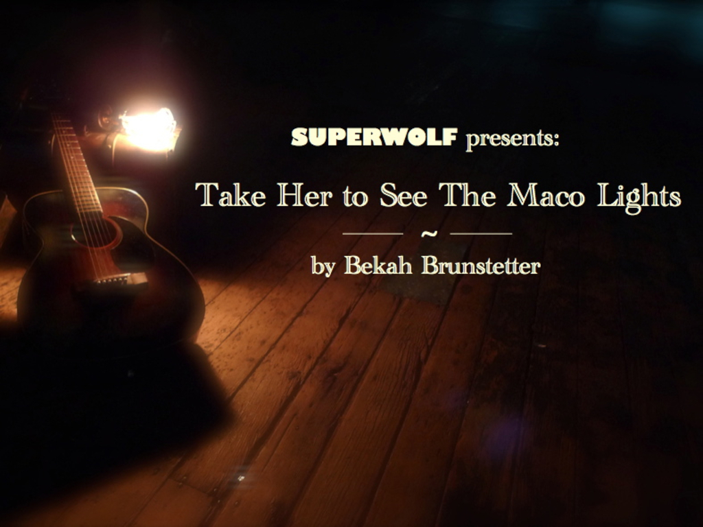 SUPERWOLF presents: Take Her to See the Maco Lights's video poster