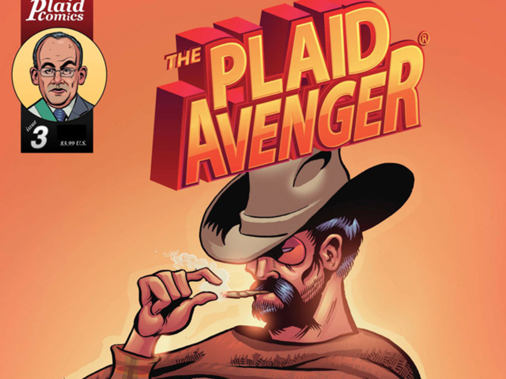 Interactive educational comic/app: Plaid Avenger in Mexico!'s video poster