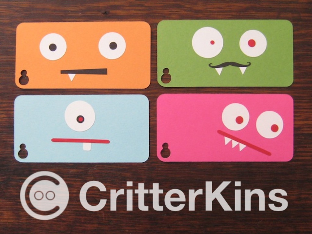 CritterKins: iPhone buddies that you design's video poster
