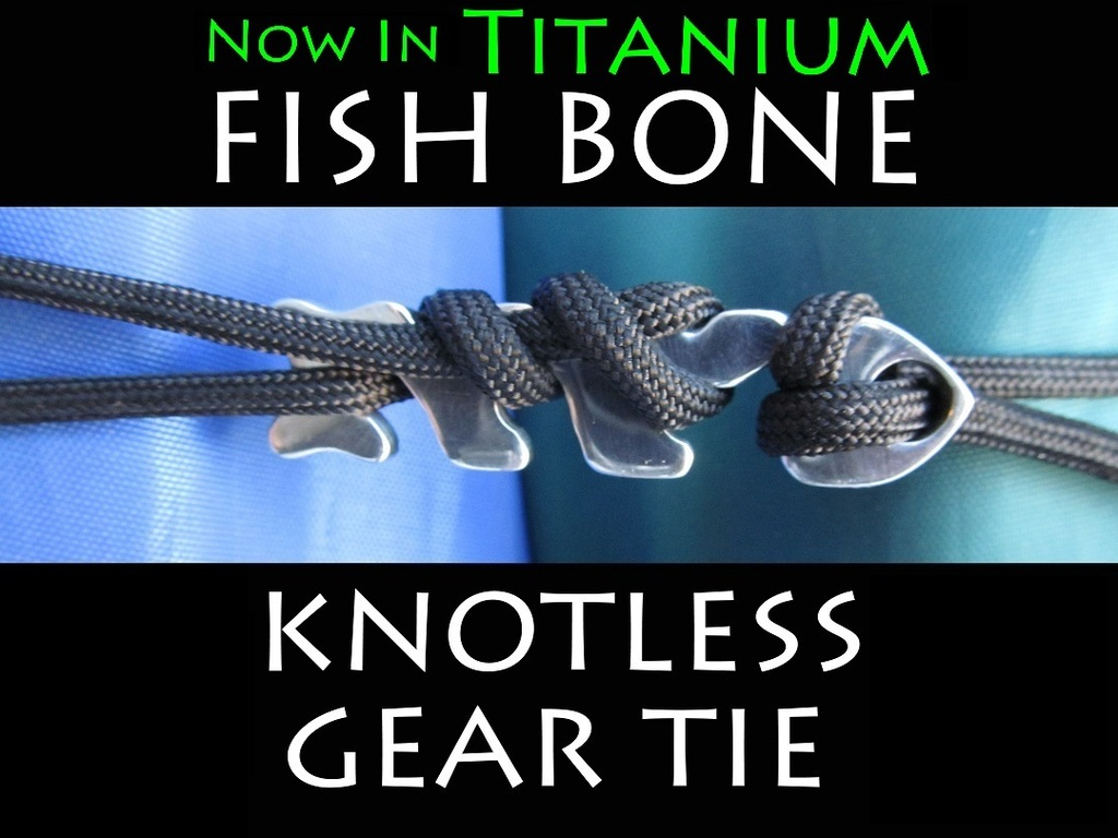 FISH BONE - Knotless Gear Tie's video poster