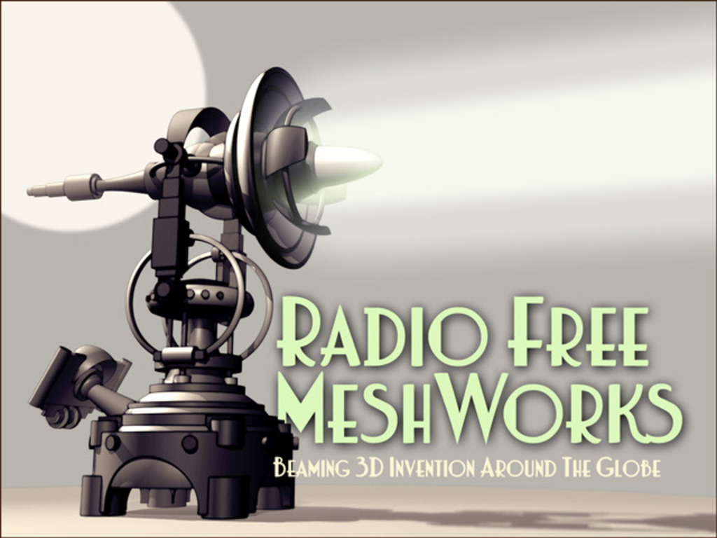Radio Free MeshWorks: Beaming 3D Invention Around the Globe's video poster
