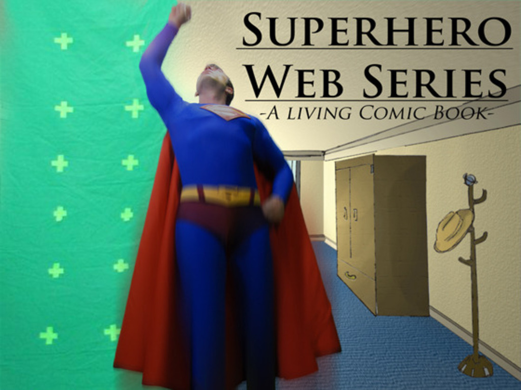 Superhero Web Series: A Live Action Comic Book! 's video poster
