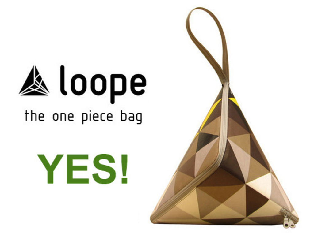 Loope, the one piece bag's video poster