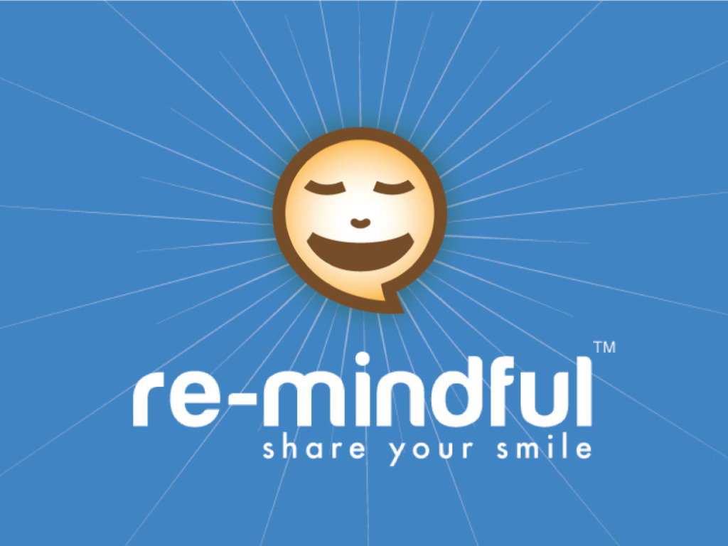the re-mindful app -  a random reminder to smile!'s video poster