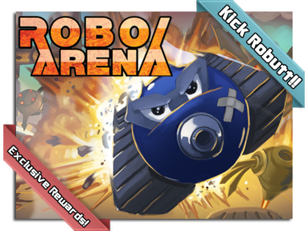 RoboArena- Asynchronous Multiplayer Tactical iOS Game's video poster