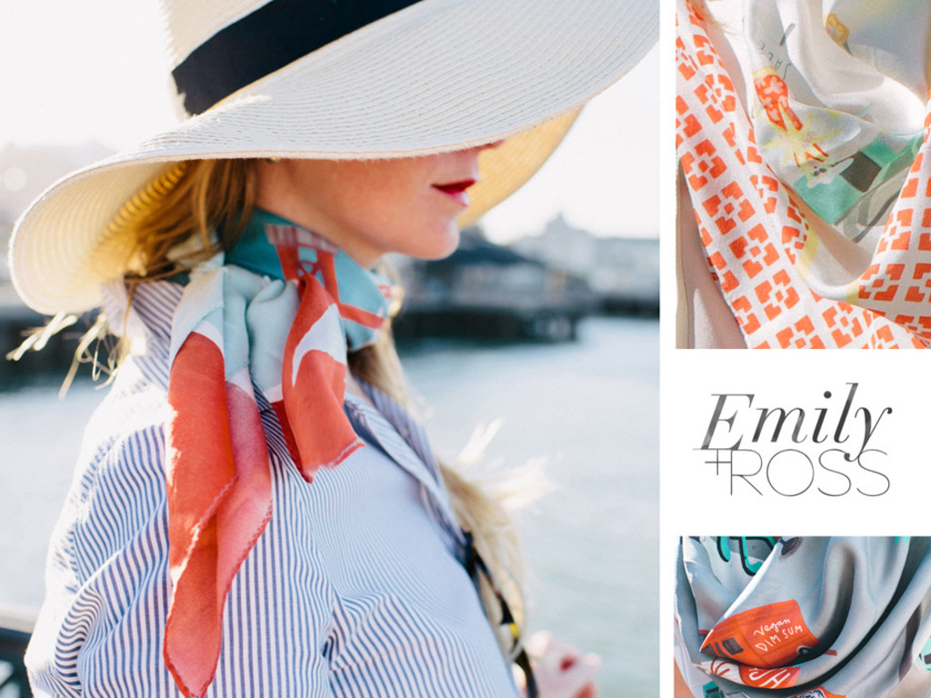 Emily+Ross: Modern Scarves, Vintage Style, Local Perspective's video poster