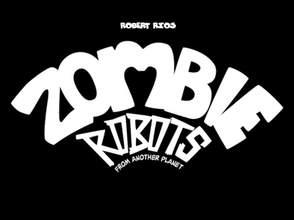 Zombie Robots from another planet's video poster
