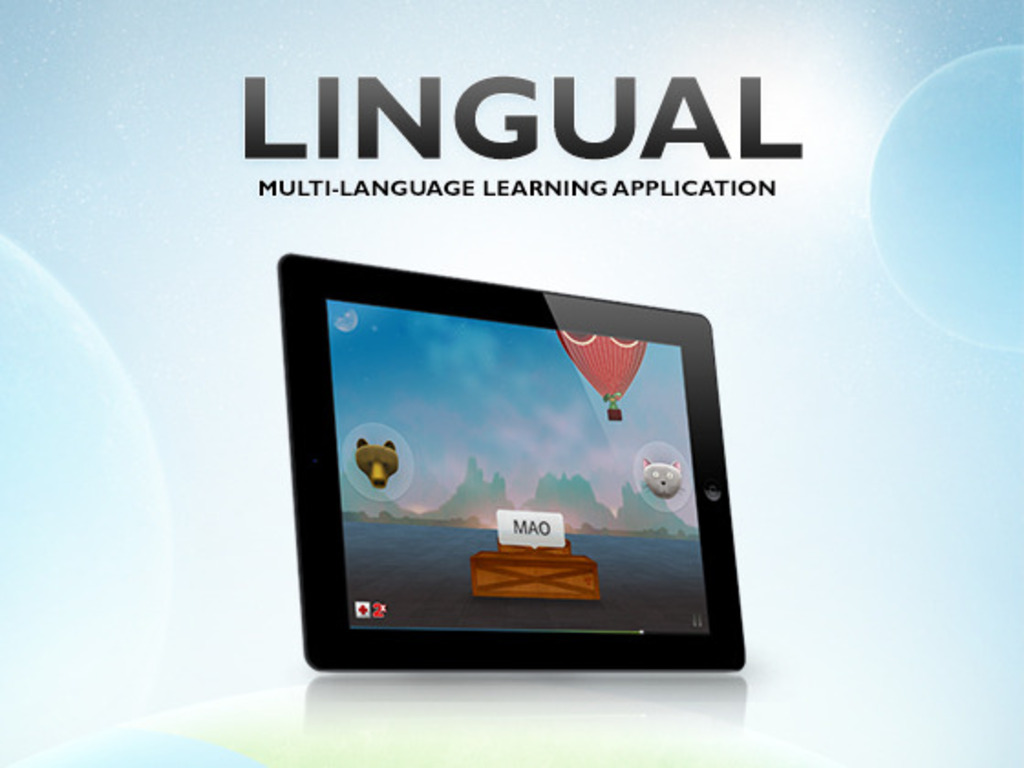 Lingual: The Multi-Language Learning Application's video poster