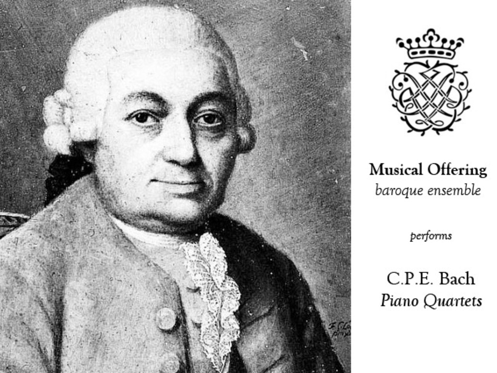 C.P.E. Bach, Complete Piano Quartets's video poster