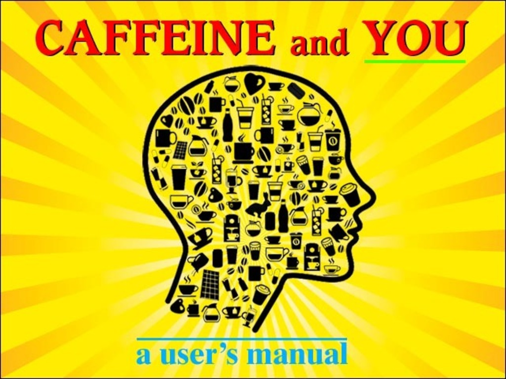 Caffeine and YOU: A User's Manual - book with infographics's video poster