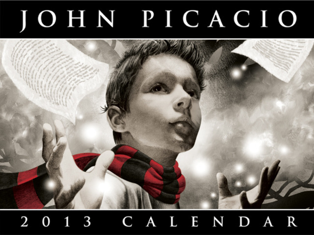 The 2013 John Picacio Calendar's video poster