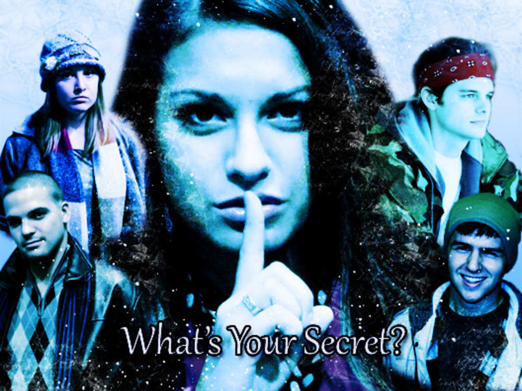 Secrets in the Snow, a feature length family film's video poster