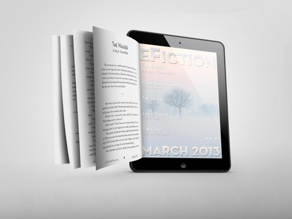 eFICTION: Genre Fiction Magazines Apps/Print #SavetheShort's video poster
