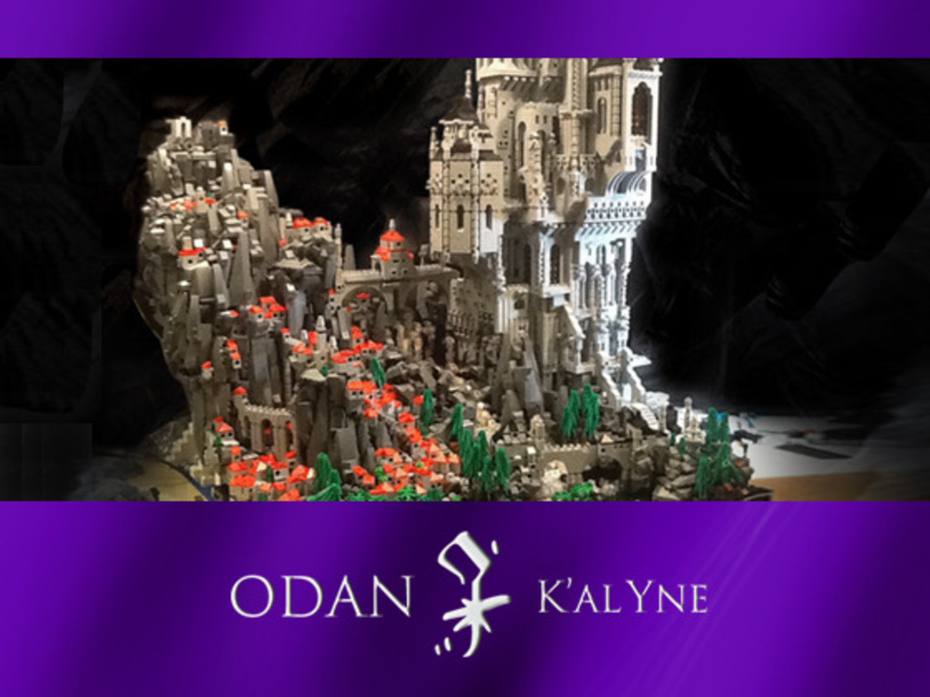 The Odan Project: A Fantastical and Massive LEGO Masterwork's video poster