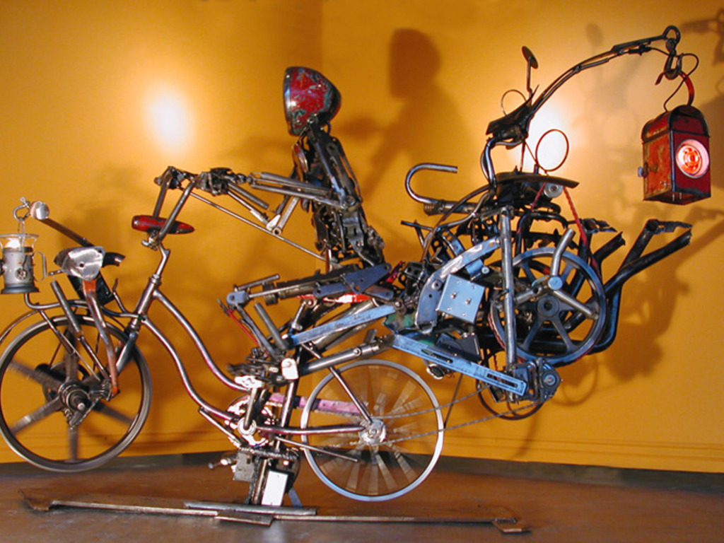 """The Long Road"" Amazing Mechanical Sculpture's video poster"