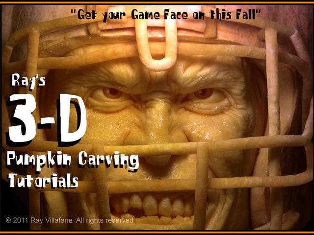 Ray villafane s d pumpkin carving tutorials by