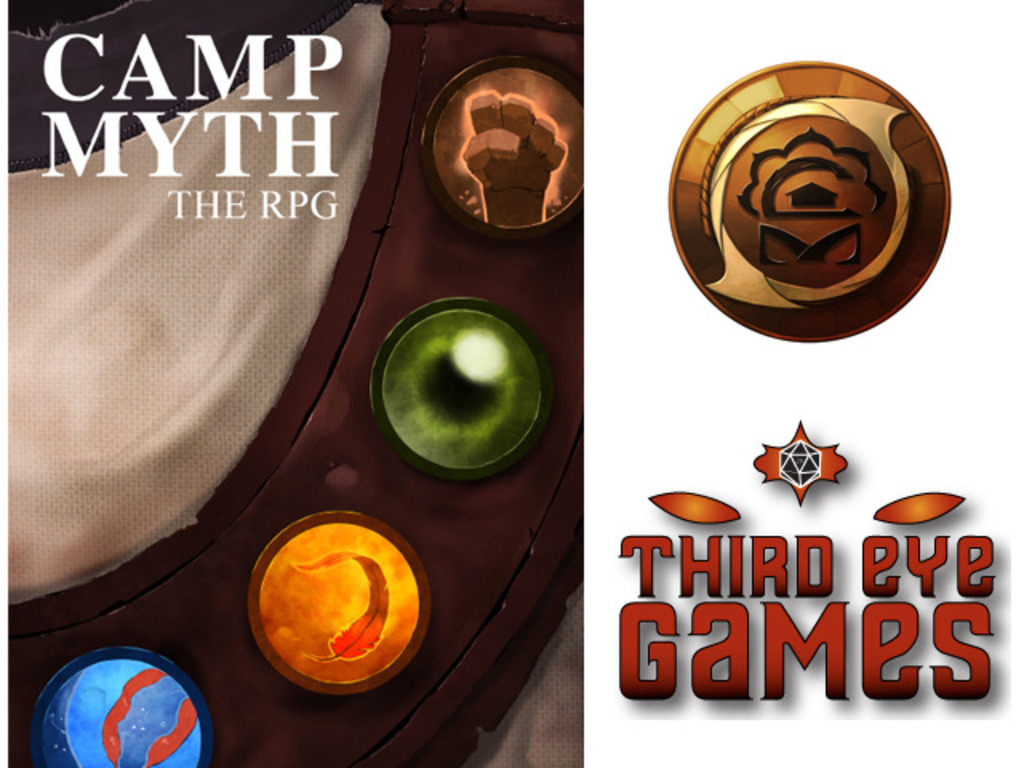 Camp Myth: The RPG's video poster