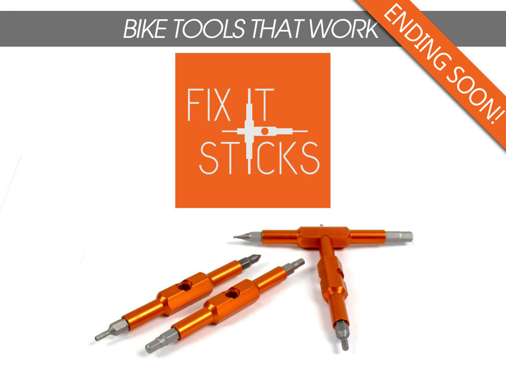 Fix It Sticks-Fantastically Unique Bicycle Multitool's video poster