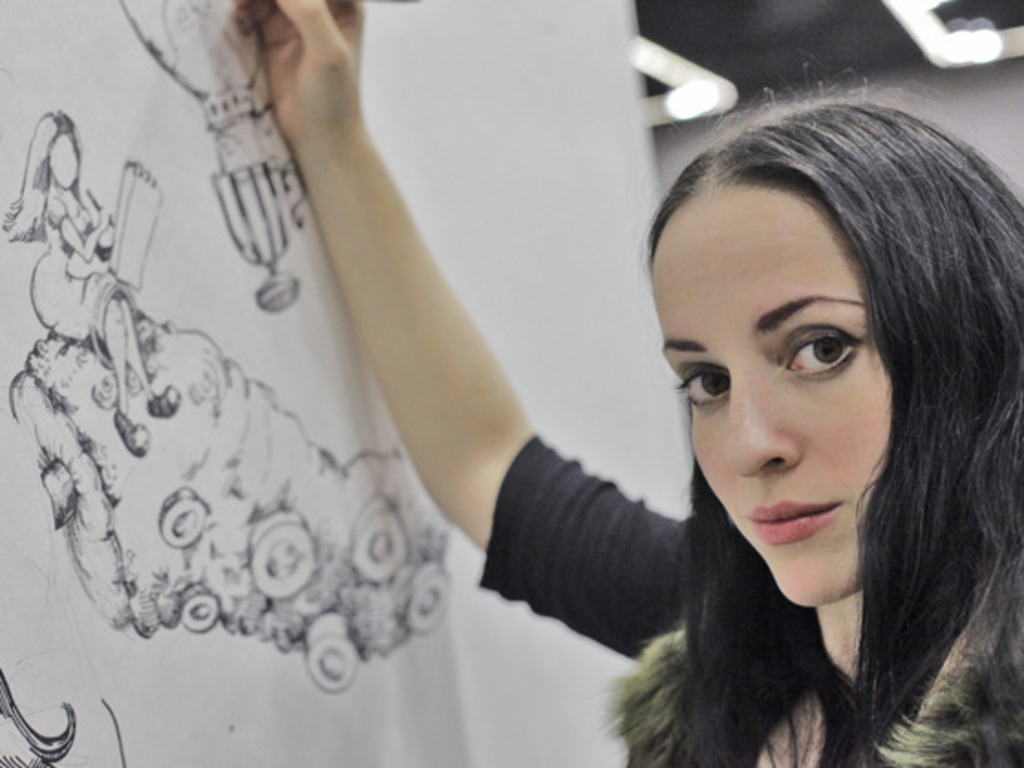 Molly Crabapple's Week in Hell's video poster
