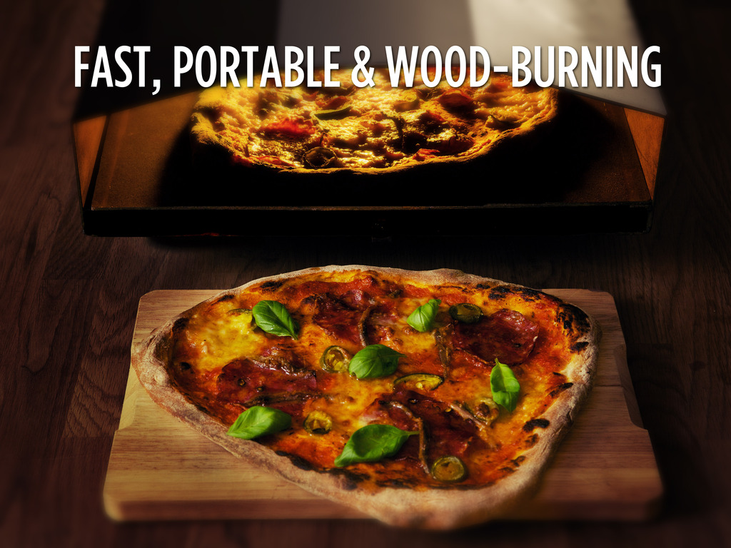 Uuni - a small, fast & affordable wood-fired pizza oven's video poster