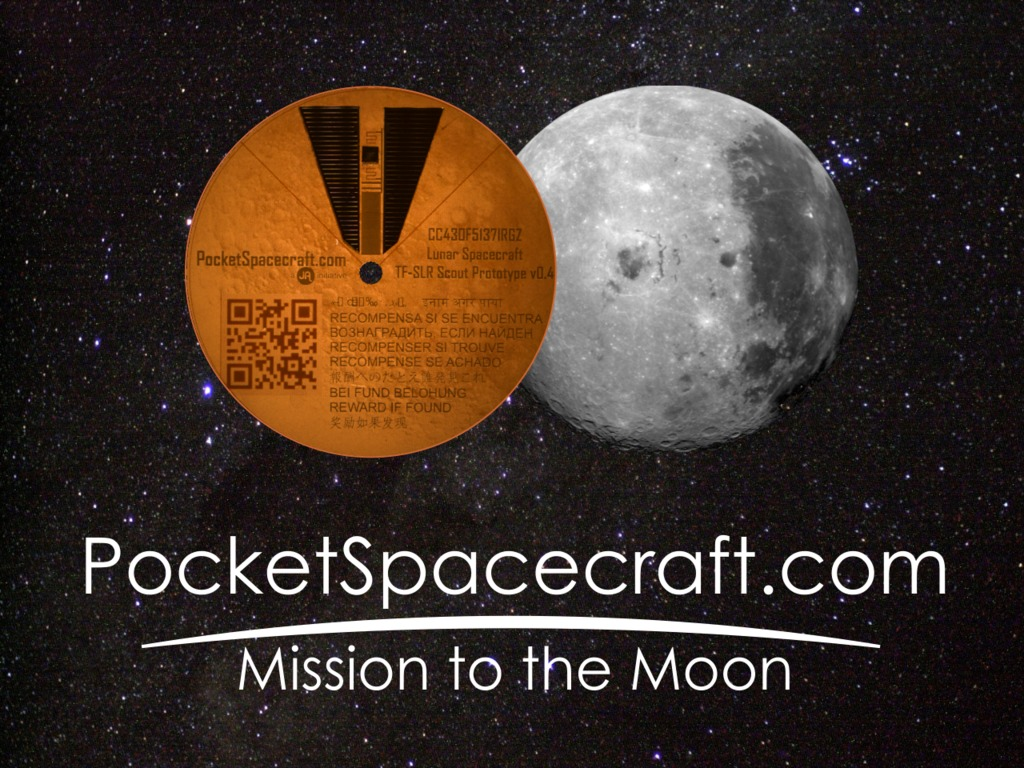 Send your own Pocket Spacecraft on a Mission to the Moon!'s video poster