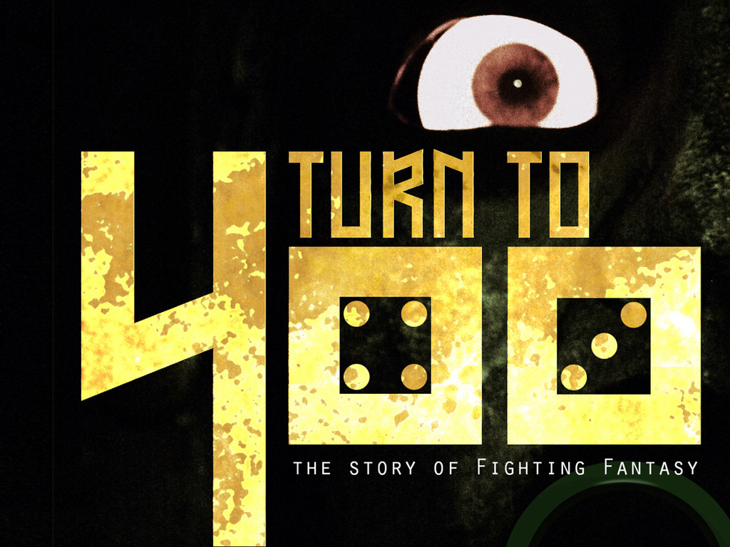 Turn to 400 - The Fighting Fantasy documentary film's video poster